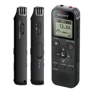Sony ICD-PX470 recorder for interviews