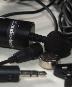 Best Clip-on Microphone for Interviews-Audio-Technica ATR-3350IS Lav Mic