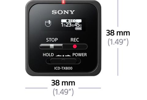 Best Small Sony Voice Recorder : TX800