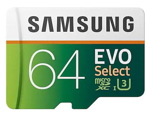 Best microSD Card for your ux560 Voice Recorder - 64GB EVO