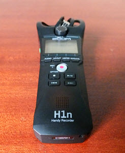 Best Digital Voice Recorder for Journalists: Zoom H1n