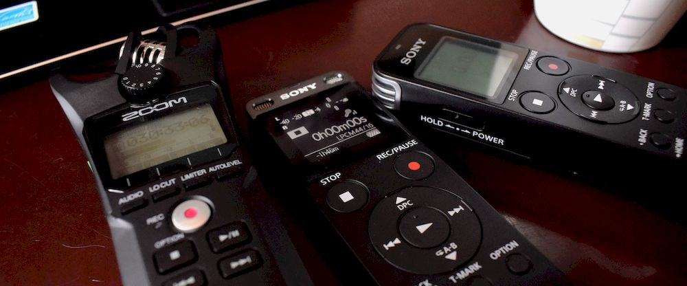 3 best voice recorders for interviews