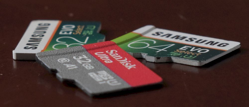 Best MicroSD Cards for your Voice Recorder