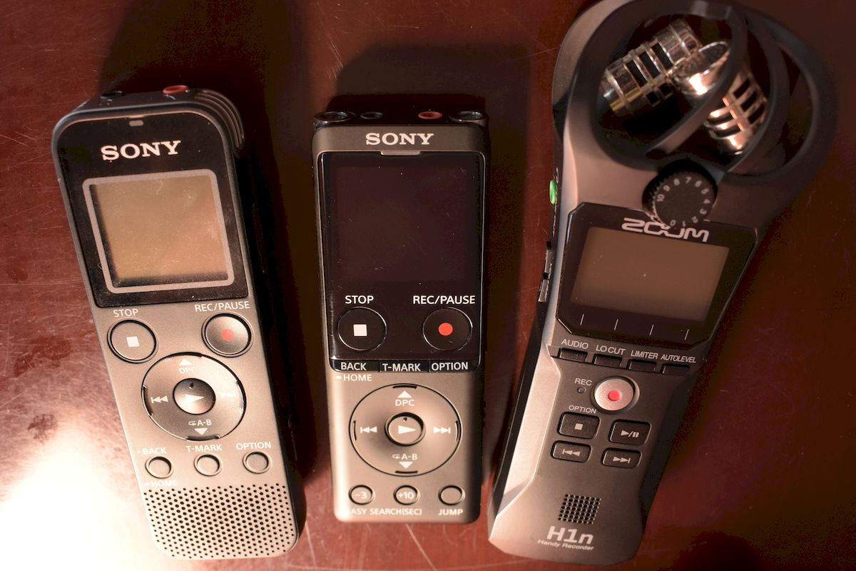 Best voice recorders for inteviews
