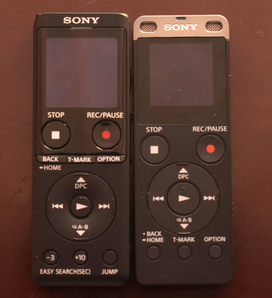 Sony ICD-ux570 compared to Sony ICD-ux560