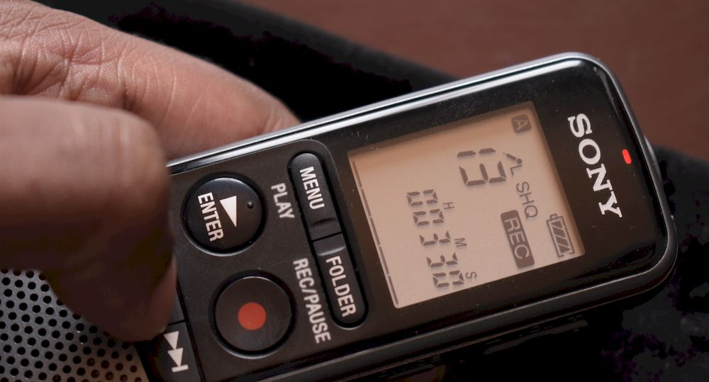 Best voice recorder for dictating your book