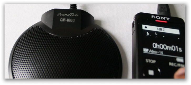 Summary of the CM-1000 Boundary Microphone Review