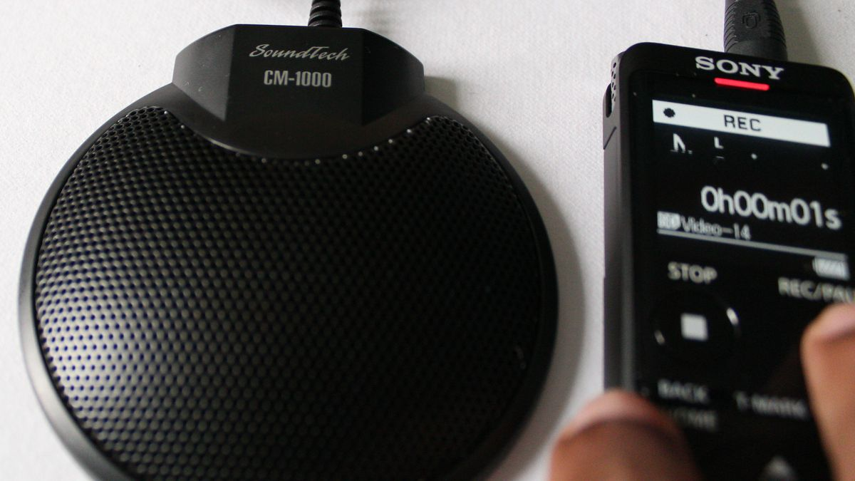 Image of the CM-1000 Boundary Microphone